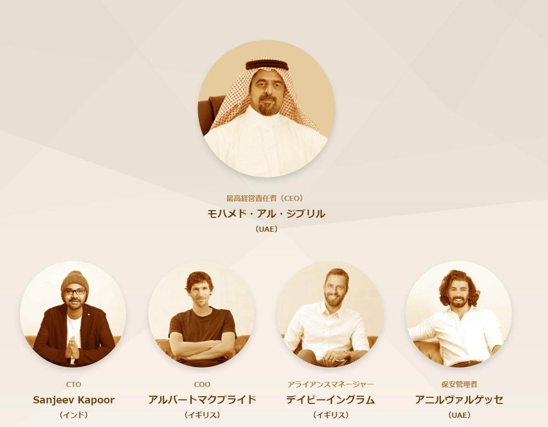 仮想通貨ロードのチーム