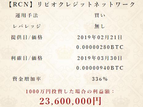 魁!仮想通貨塾の最新実勢