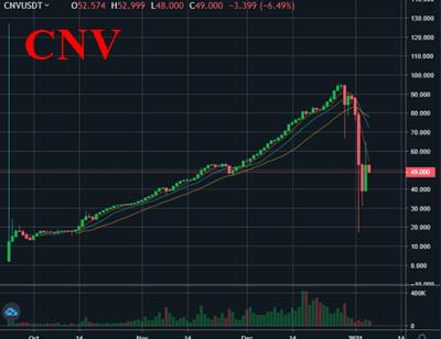 CNVのチャート