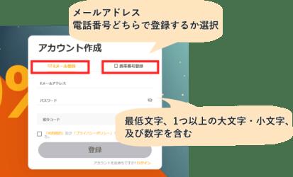 bybitの登録方法